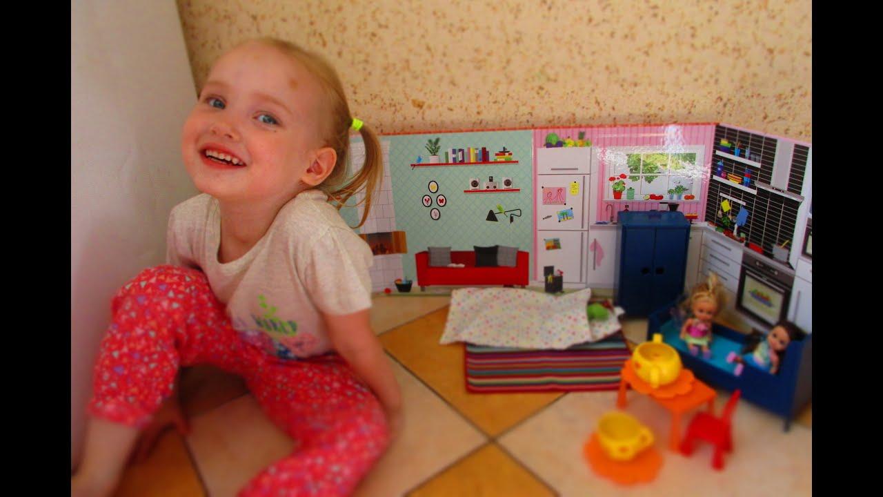 Обзор на набор кукольной мебели Huset из IKEA (Икея .