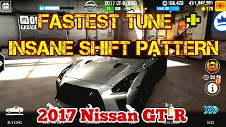 CSR2 Fastest Tune + AMAZING Shift Pattern for the 2017 Nissan GTR | No Stage 6 | CSR2 WILL