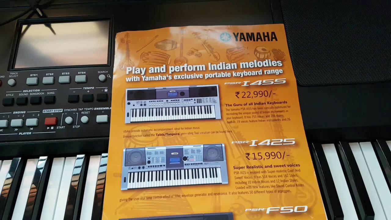 Teclado Digital Portátil com 61 Teclas e 114 Ritmos - YAMAHA PSR .