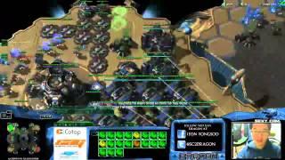 HOTS -- Dragon Mass Marine Only NO GAS -- Troll Game