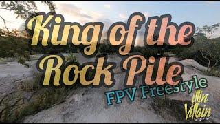 Pile of rocks FPV