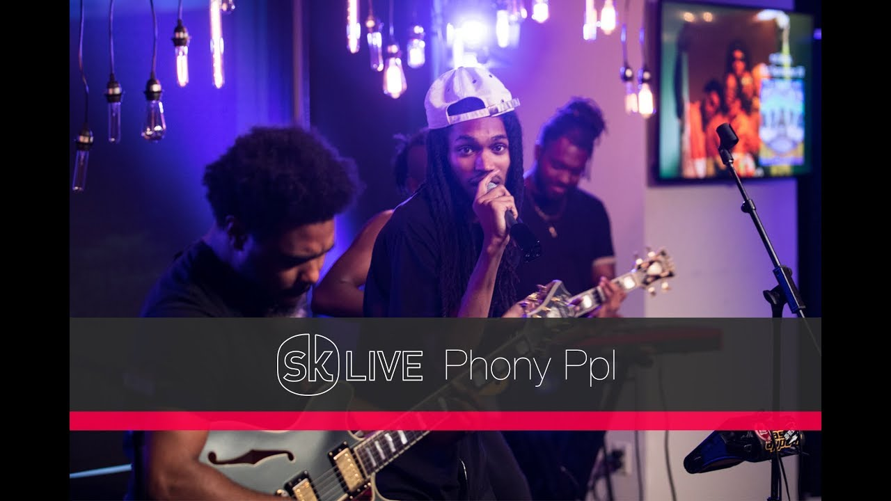 Phony Ppl — Why iii Love The Moon. [Songkick Live]
