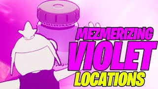 Find Bottles of Mezmerizing Violet in the wreckage south of Believer Beach (ALL LOCATIONS) Fortnite