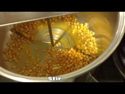 Making Movie Theater Popcorn Youtube