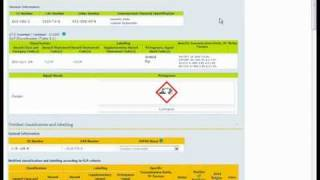 ECHA Video Tutorial: Classification and Labelling Inventory