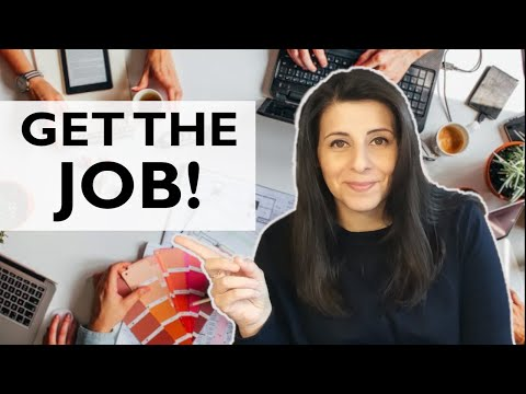 How to get a JOB in Interior Design // Portfolio Review + Interview Tips (5 TIPS)