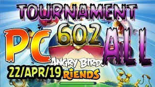 Angry Birds Friends All Levels PC Tournament 602 Highscore POWER-UP walkthrough #AngryBirds