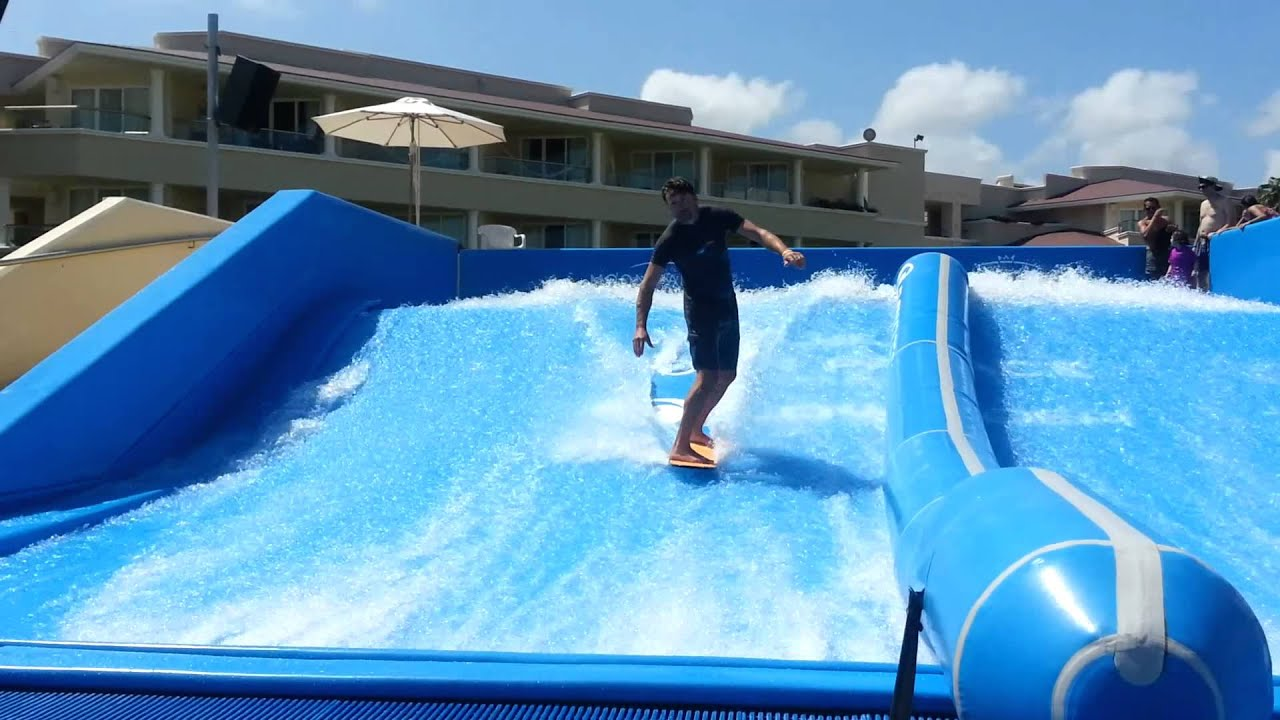 Flow Rider Moon Palace Youtube