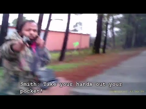 Dramatic video of officer getting shot