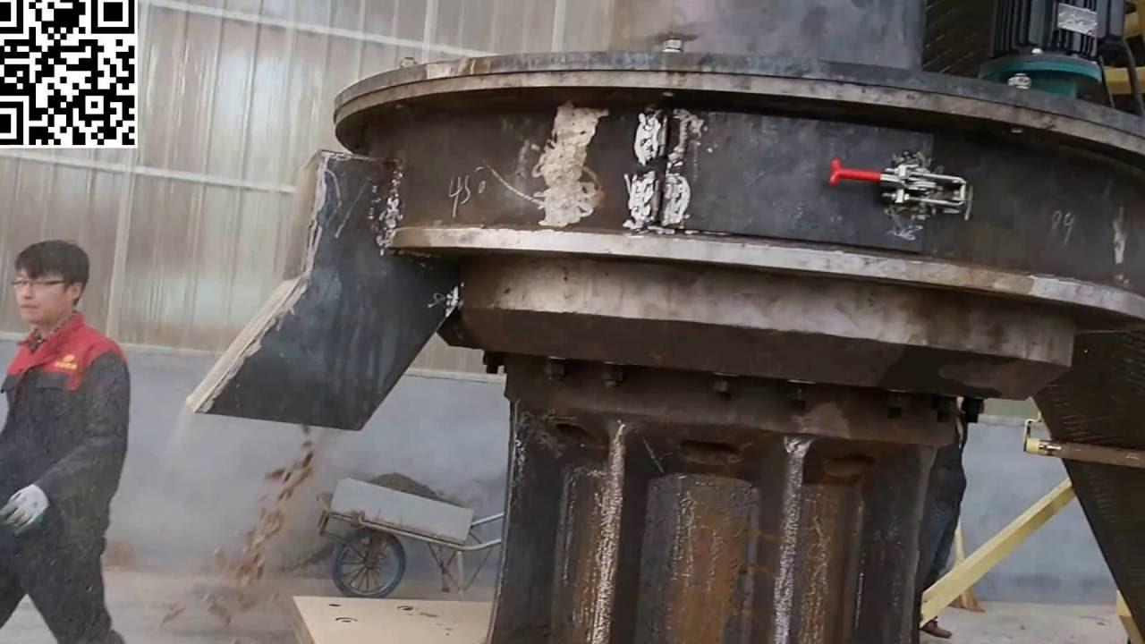wood pellet machine/ wood pellet fuel making machine - YouTube