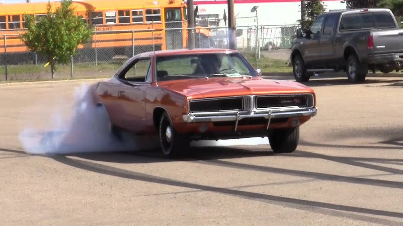 1969 Charger Burnout Youtube