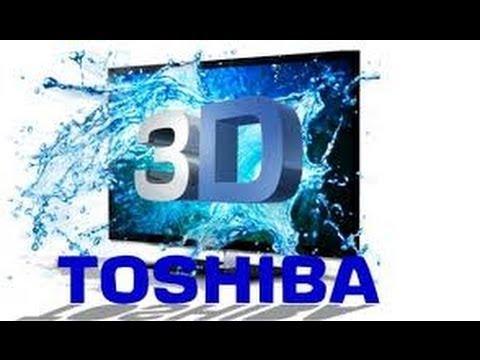Emazing Toshiba 32 Inch HD Ready LED TV/DVD Unboxing Setting Program NEW