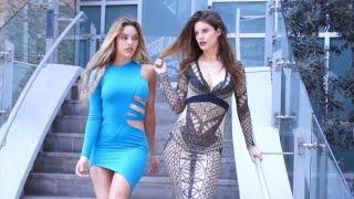 Expectations vs. Reality buying dresses online | Lele Pons & Hannah Stocking