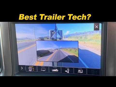 GMC Sierra / Chevy Silverado Trailering Tech   Cameras Galore