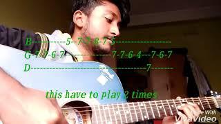 ফেলু দা theme | guitar tabs | lesson | KD