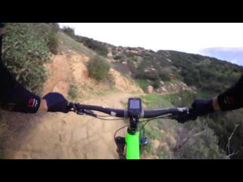Chumash Trail DH mountain biking - Simi Valley, CA