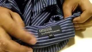 Unboxing Aliexpress - Camisa Social Ralph Lauren
