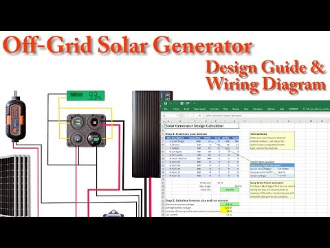 DIY Solar Generator - Builders Guide - Engineer Your Own in 13 Minutes
