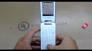 How To Unlock Alcatel One Touch 20.12 (2012G, 2012X and 2012D) by Unlock Code.