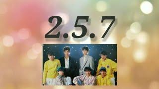 令和2年5月7日…光GENJIの日。 この『2.5.7』という曲は ジャニーズで初めて作られたメンバー紹介の歌♪ そしてメンバー紹介の歌は今も後輩グルー...