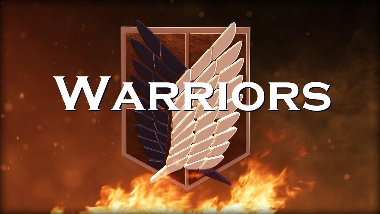 Imagine Hd Wallpaper Attack On Titan Amv Warriors Imagine Dragons Youtube
