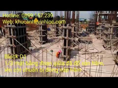 Căn hộ Vĩnh Lộc - Tiến đô xây dựng BLOCK D1  ngày 01.12.2017 - Mr.HIÊN (0915489639 )