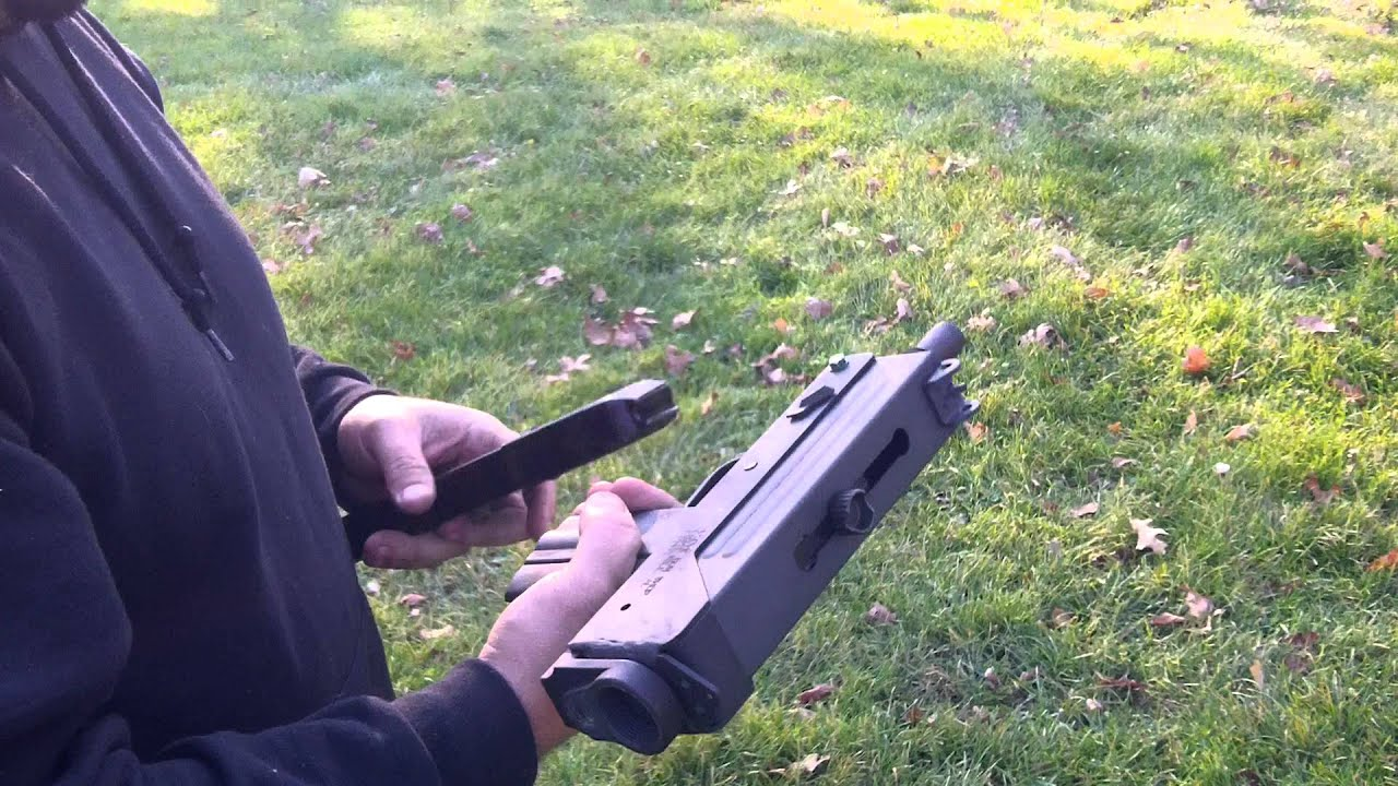 mac 10 full auto sub machine gun shooting in the backyard youtube