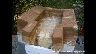 Repeat youtube video Olcsó kemence építése házilag-Low cost homemade furnace construction of