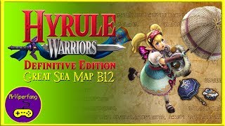 Hyrule Warriors (Switch): Great Sea Map B12 - Obtaining Agitha