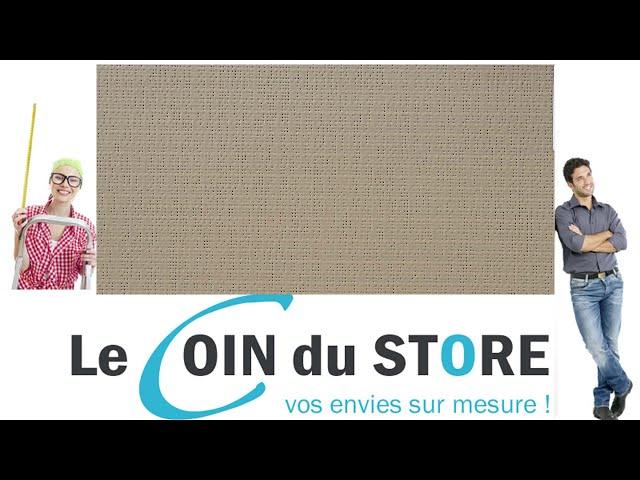 Toile PVC pour pergola et store Soltis Perform 92 Poivre cafe au lait 2012 Serge Ferrari