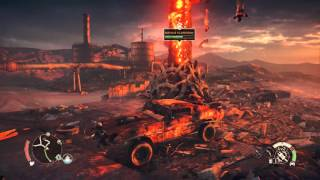 Mad Max - Massive Scarecrow (Thunderpoons + Ramming) Gameplay Action Sequence 1080p Playstation 4