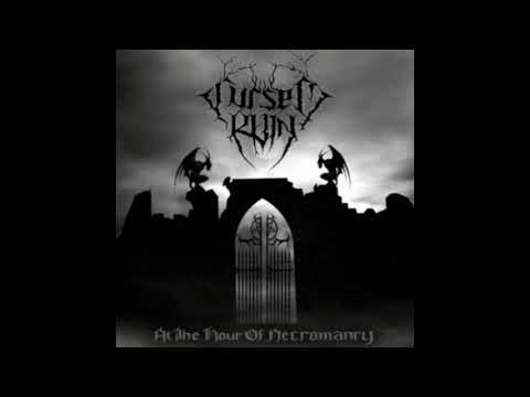 Cursed Ruin - At the Hour of Necromancy (Full-length : 2007) Raw Black Metal From United States.