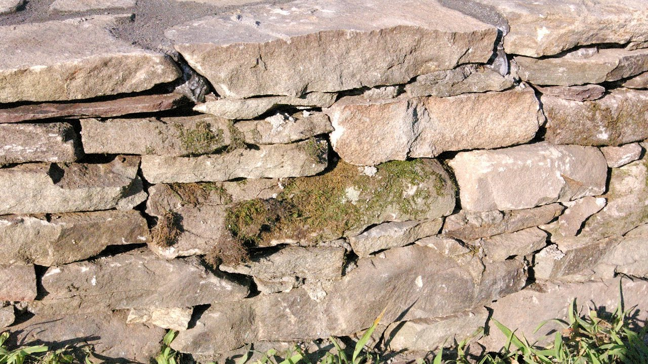What Does A Good Stone Wall Look Like Youtube