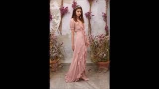 Голубые и розовые платья - очаровательная женская коллекция