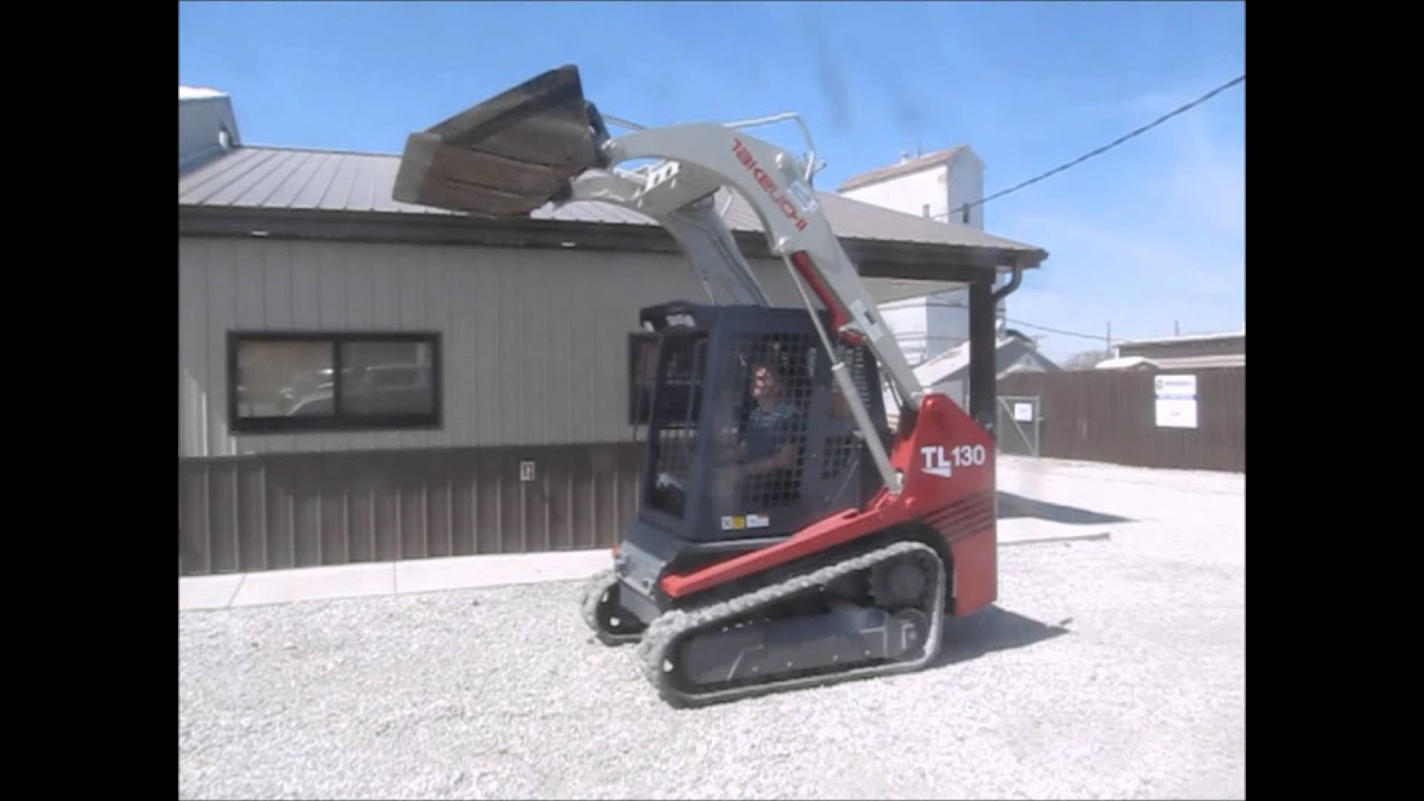 2005 Takeuchi TL130 skid steer for sale | sold at auction May 15, 2014