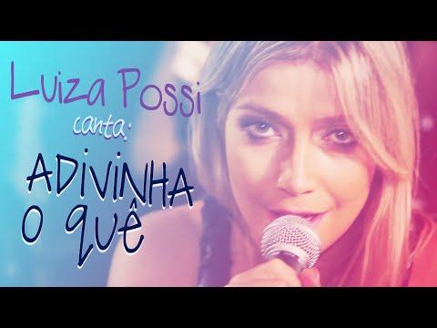 Luiza Possi - Adivinha O Quê Lulu Santos  LAB LP