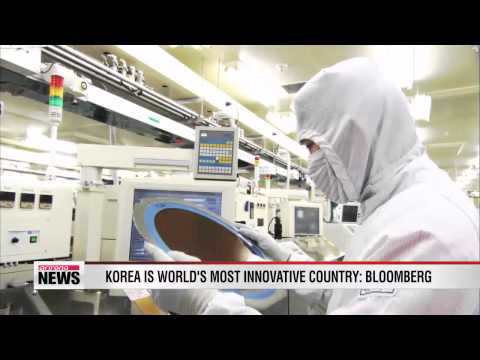Korea is world's most innovative country: Bloomberg