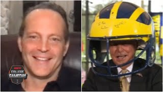 Lee Corso's headgear pick for Michigan vs. Minnesota with Vince Vaughn | College GameDay