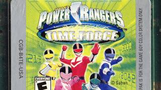 Classic Game Room - POWER RANGERS TIME FORCE Game Boy Color review
