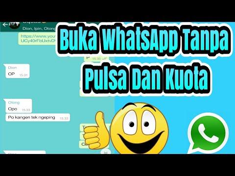 Gratis Akses Whatsapp Tanpa Pulsa Dan Kuota