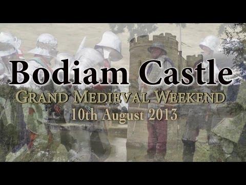 Bodiam Castle Medieval Weekend 2013