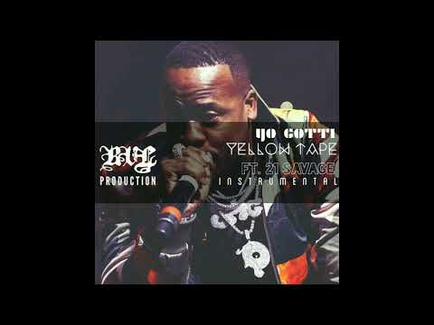 Yo Gotti - Yellow Tape Ft. 21 Savage Instrumental (prod. reveal)