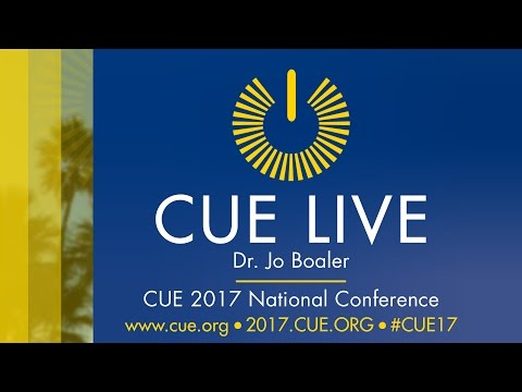 CUE Live! - Dr. Jo Boaler at the CUE 2017 National Conference