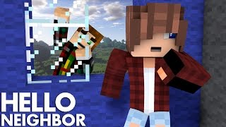 Minecraft Hello Neighbor What's On The Second Floor  (Minecraft Roleplay)