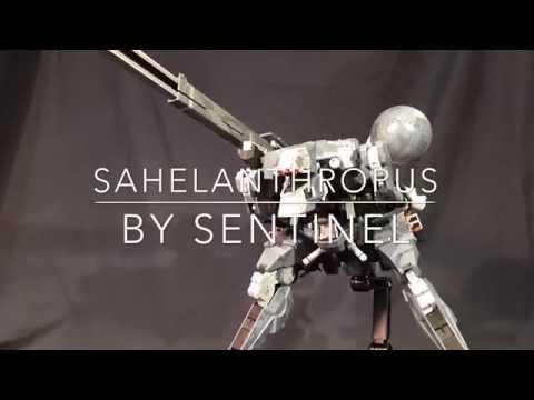 Metal Gear Sahelanthropus by Sentinel