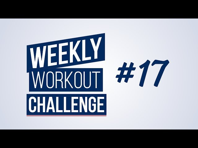 Weekly Workout Challenge #17 | Renaud Center