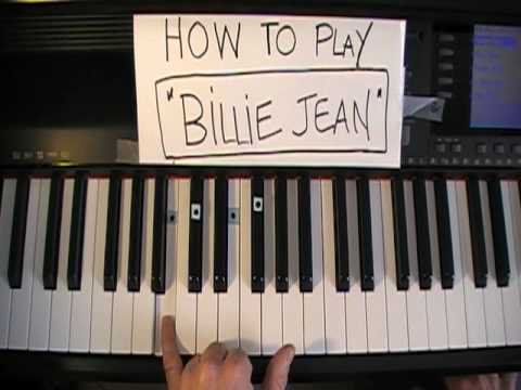 How To Play Billie Jean On Piano Michael Jackson Youtube