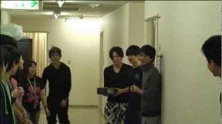 "TAITO Birthday 20th, in backstage of 2011 D-Stage ""Kensatsugawa no ..."