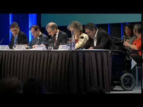 The opening ceremony of the Oslo Conference 2012