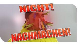 SCHMERZHAFTER VERSUCH !